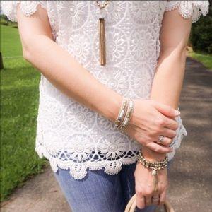 Stella & Dot- Milania bracelet